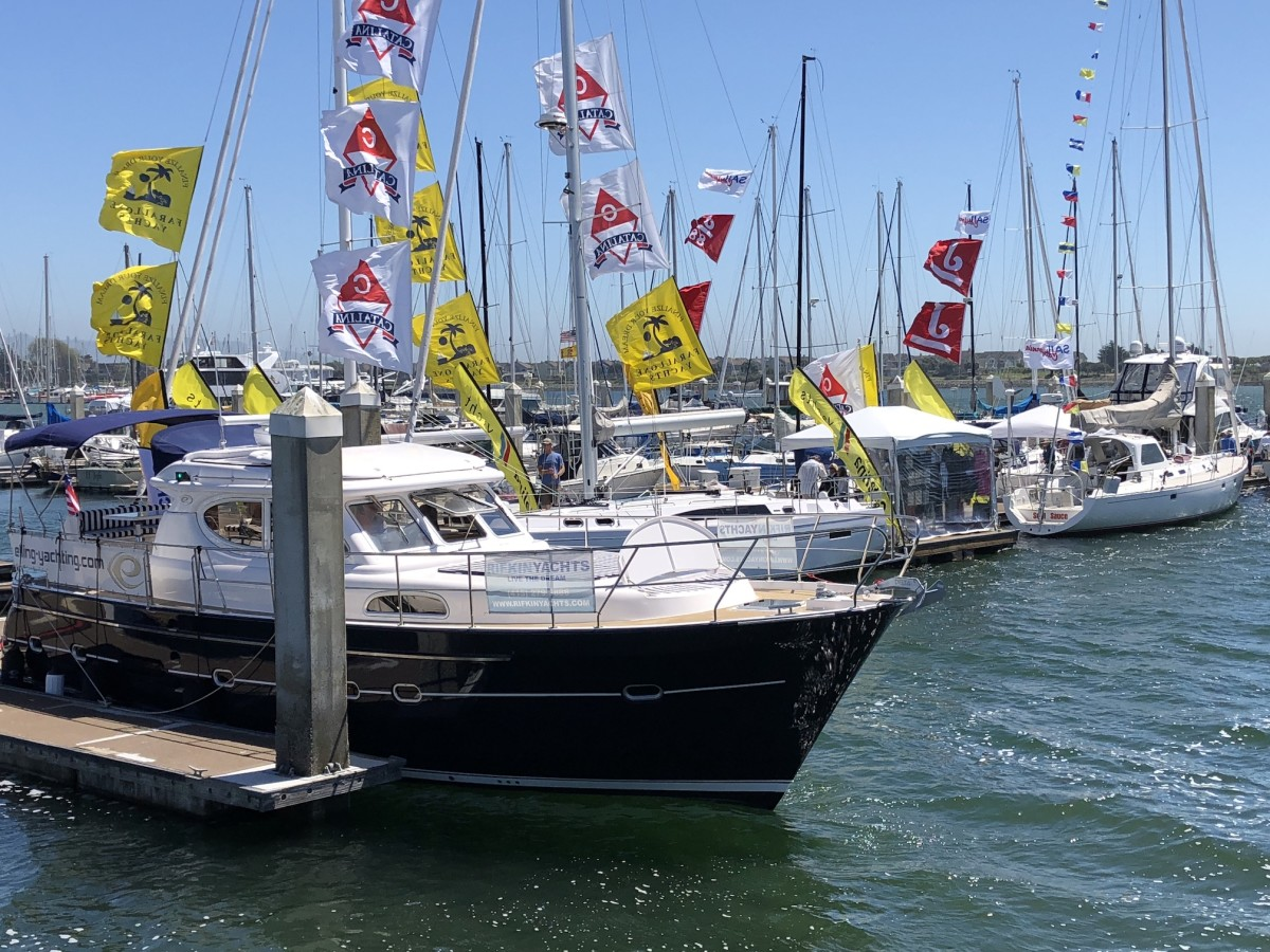 The Pacific Sail & Power Boat Show is one of the most popular events on the west coast.