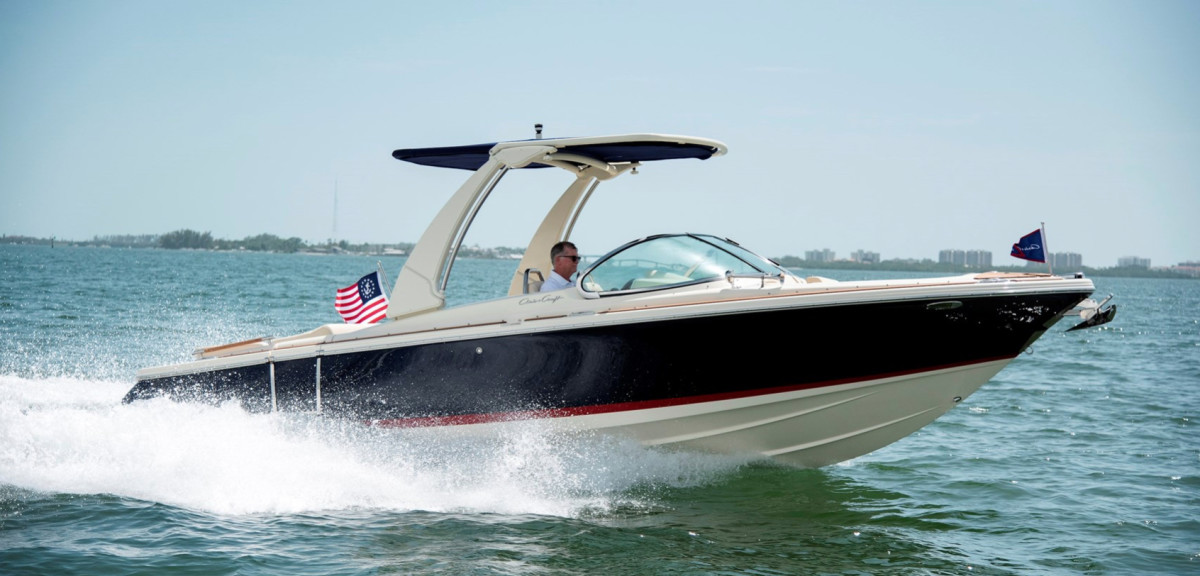 Stocks at Winnebago, which manufactures Chris-Craft Boats, were down more than 20 percent Monday.