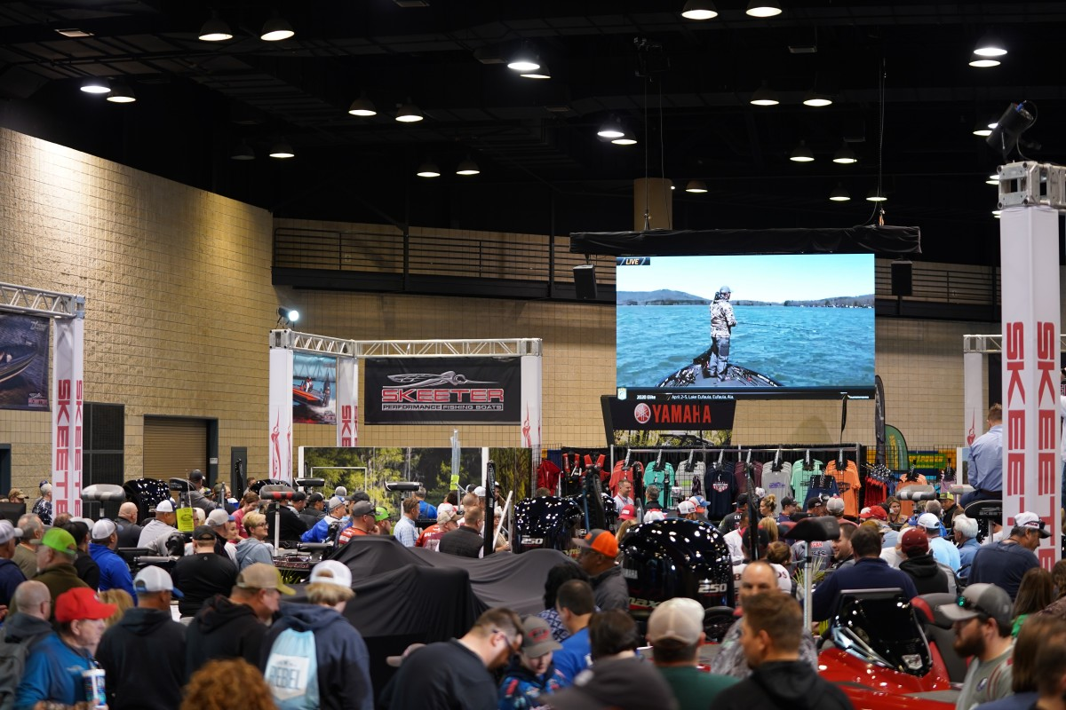 Skeeter unveiled new products at the Bassmaster Classic to capitalize on the big crowds and enthusiastic buyers at the Classic's Outdoors Expo.