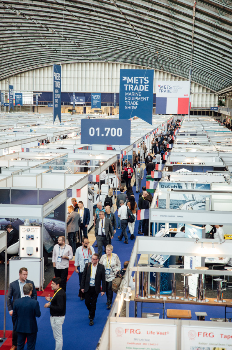 More than 1,670 exhibitors — many of them small or medium-sized companies — exhibited at Metstrade last year.