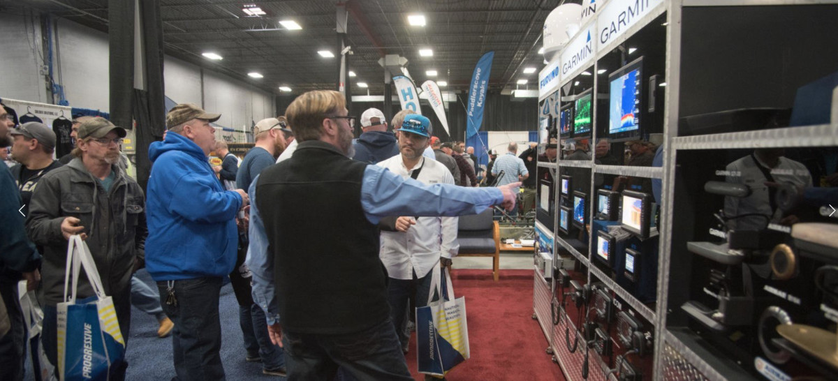 The Progressive Saltwater Fishing Expo in Edison, N.J., was among the shows that will be cancelled due to coronavirus.