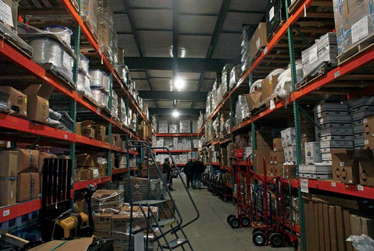 Hamilton Marine has two warehouses in Searsport  and is building up its online service.