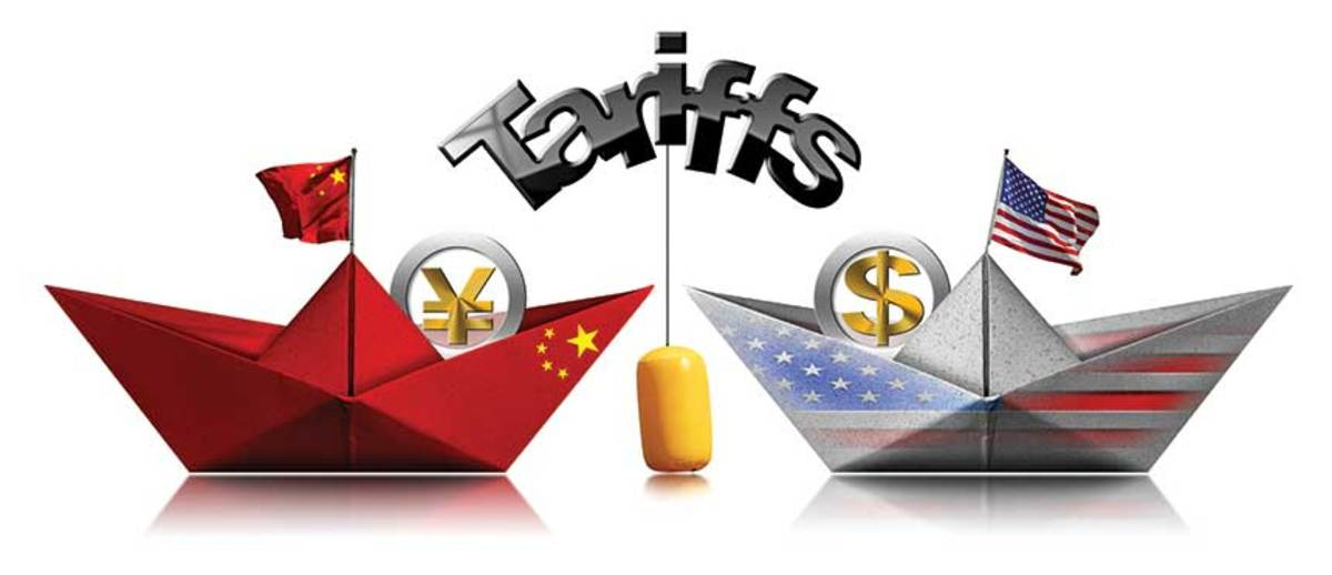 The ongoing trade war with China continues to be a major concern.