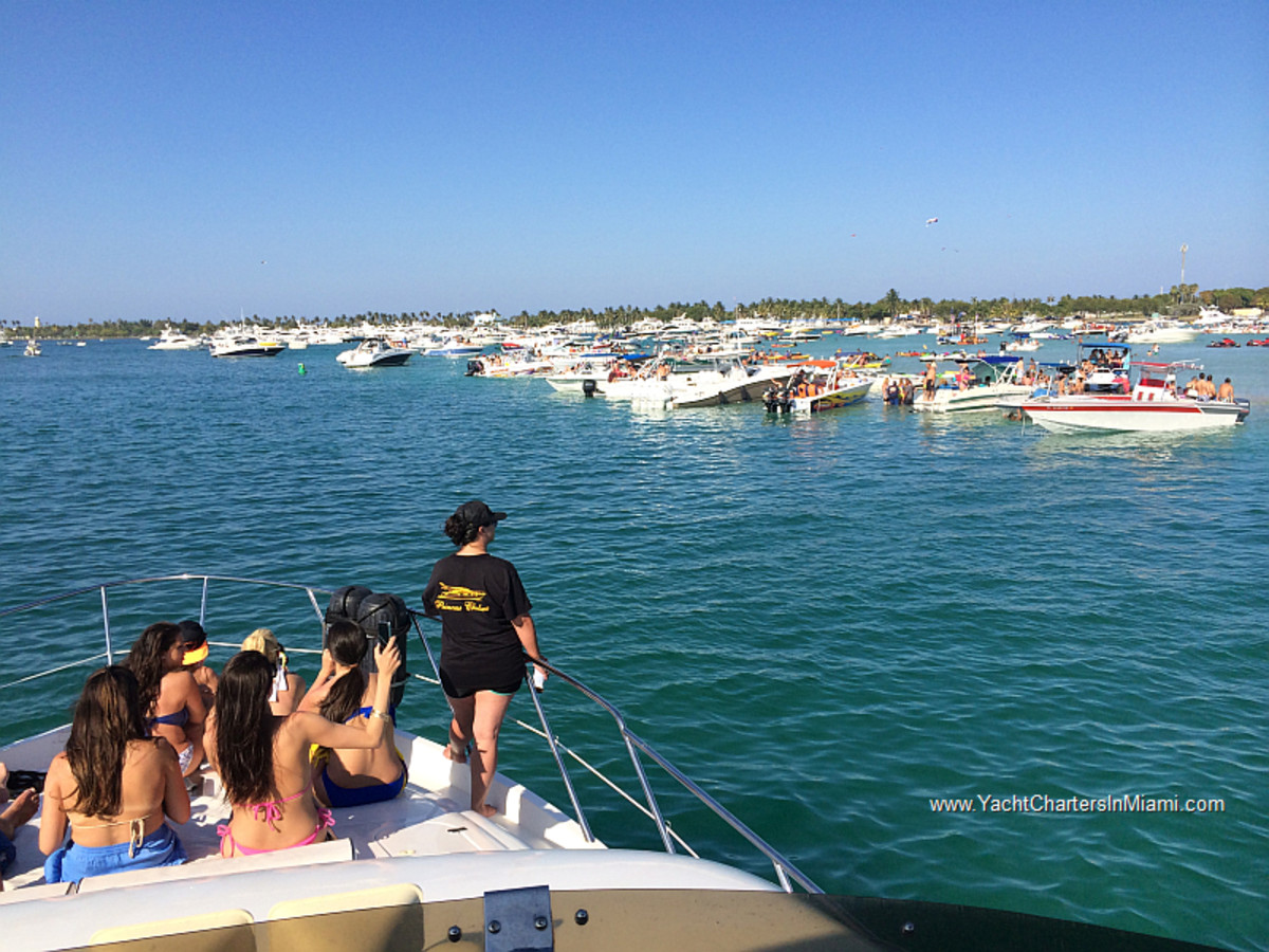 Large boat parties were reported to take place all weekend, causing the emergency orders.