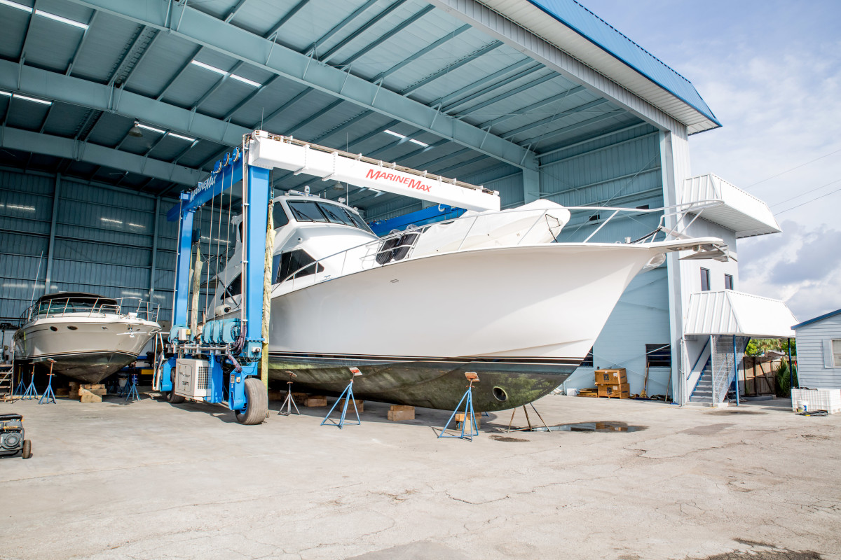 Most of MarineMax's 59 locations are fully or partially operational.