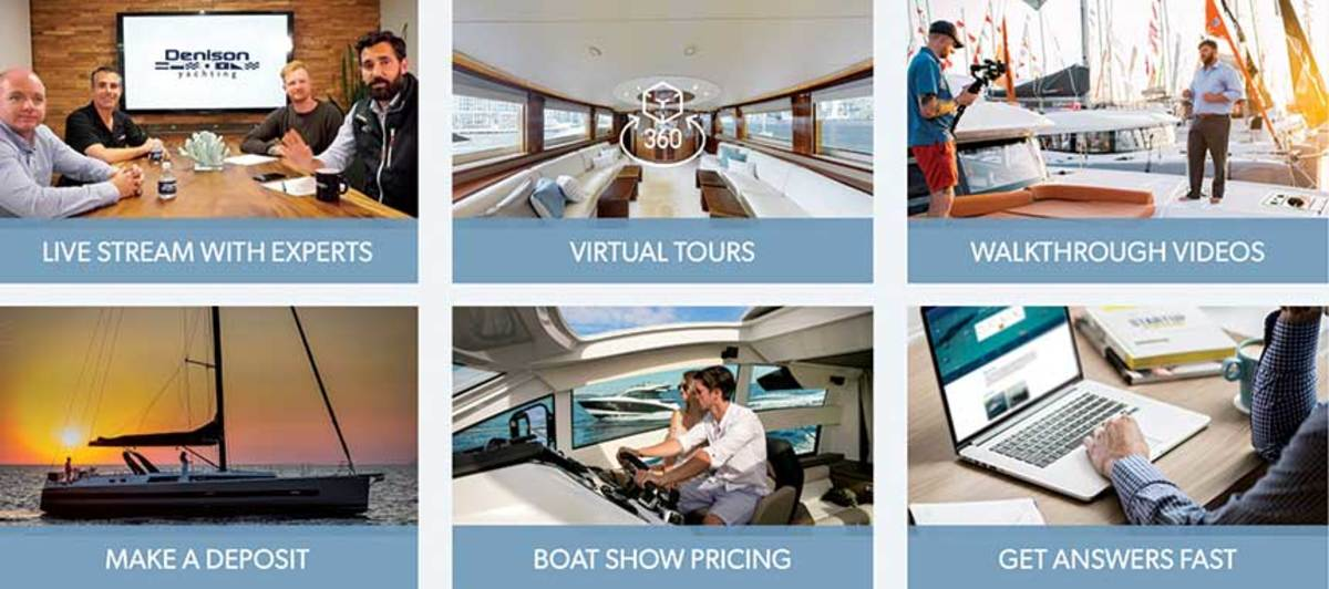 Denison Yachting founder Bob Denison says making digital marketing a priority is helping his company transition to doing business during the pandemic.