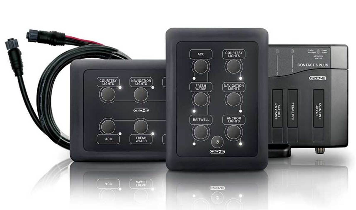 Digital switching packages from CZone allow for retrofit installations on older boats looking for an upgrade.