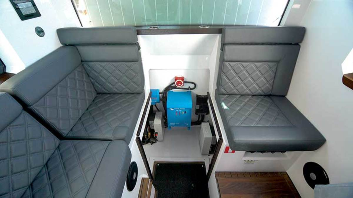 BoatRx specializes in the design and installation of custom battery systems that utilize chargers and inverters.
