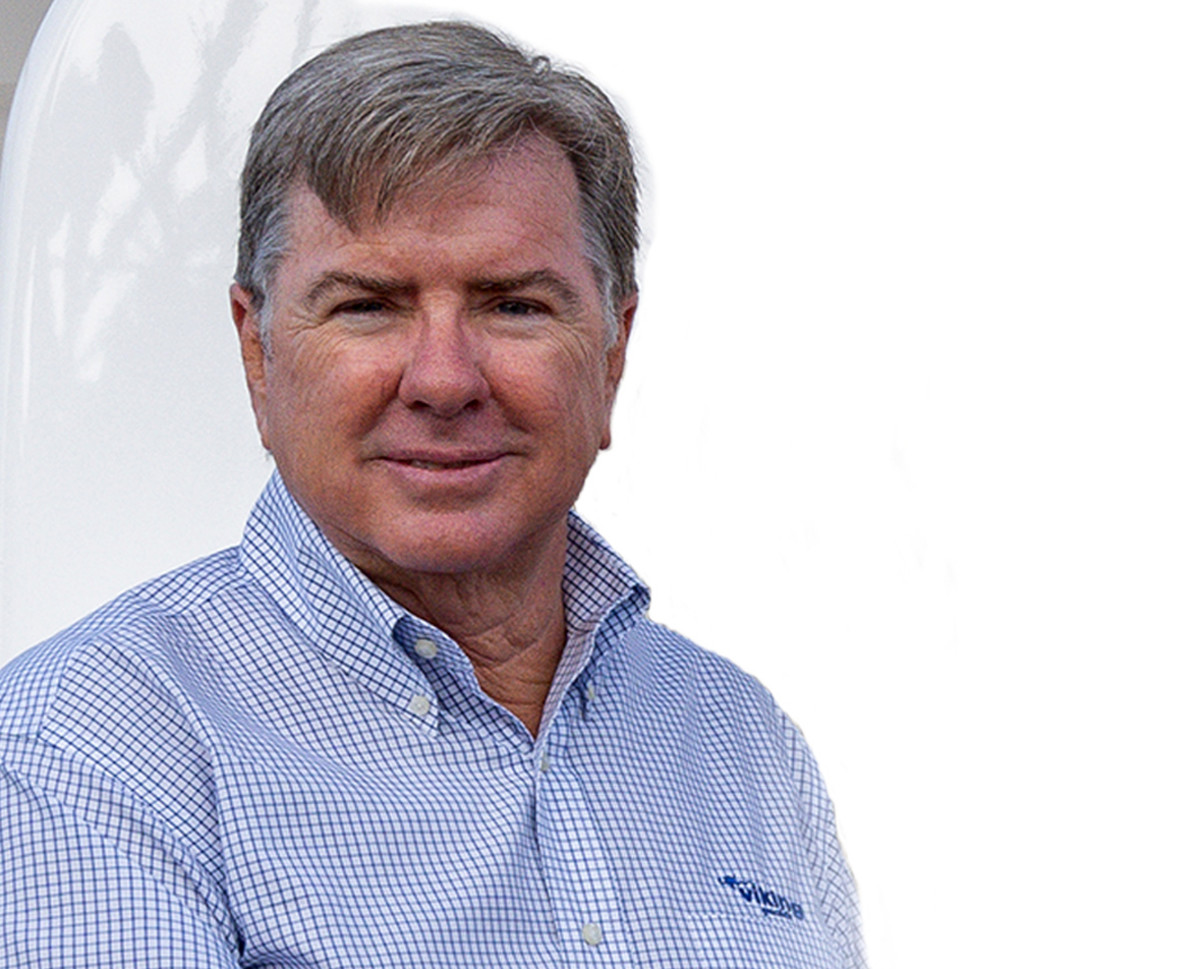Viking Yachts president and CEO Pat Healey.