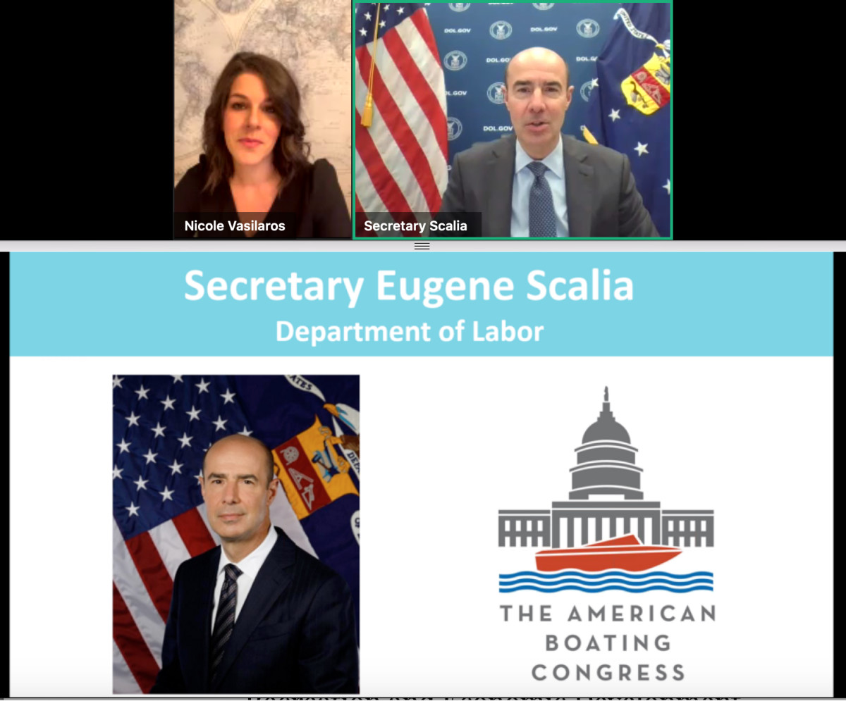 U.S. Labor Secretary Eugene Scalia says American manufacturing will play an even more important role moving forward.