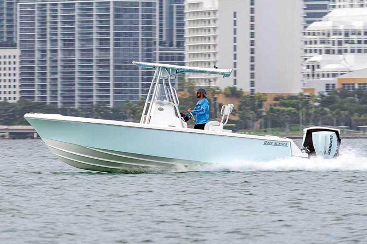 Reef Runner, which builds boats in Opa-Locka, says customer demand remains strong. The company used social media to announce a new 28-footer and had more than 40 inquiries.