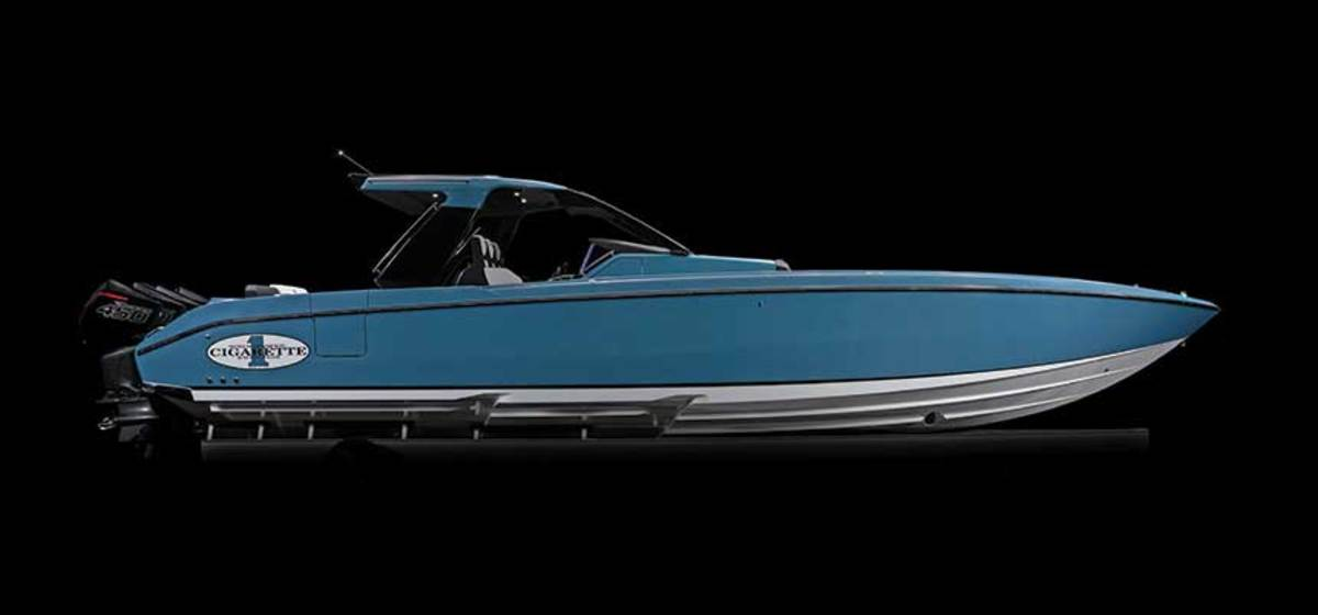 Cigarette Racing formulated a plan to resume building boats, including the new 41 Nighthawk, while it was closed for two weeks.