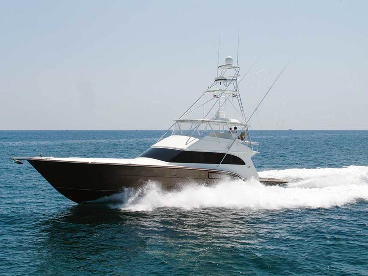 """Roscioli Yachting Center in Fort Lauderdale and the Roscioli Donzi plant in Bradenton, where the R-73 (shown) is built, never closed. """"We're blessed,""""  owner Bob Roscioli says."""