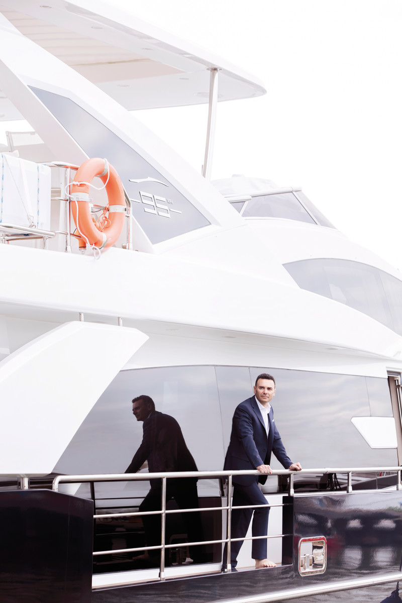 Marco Valle, CEO Azimut Benetti Group