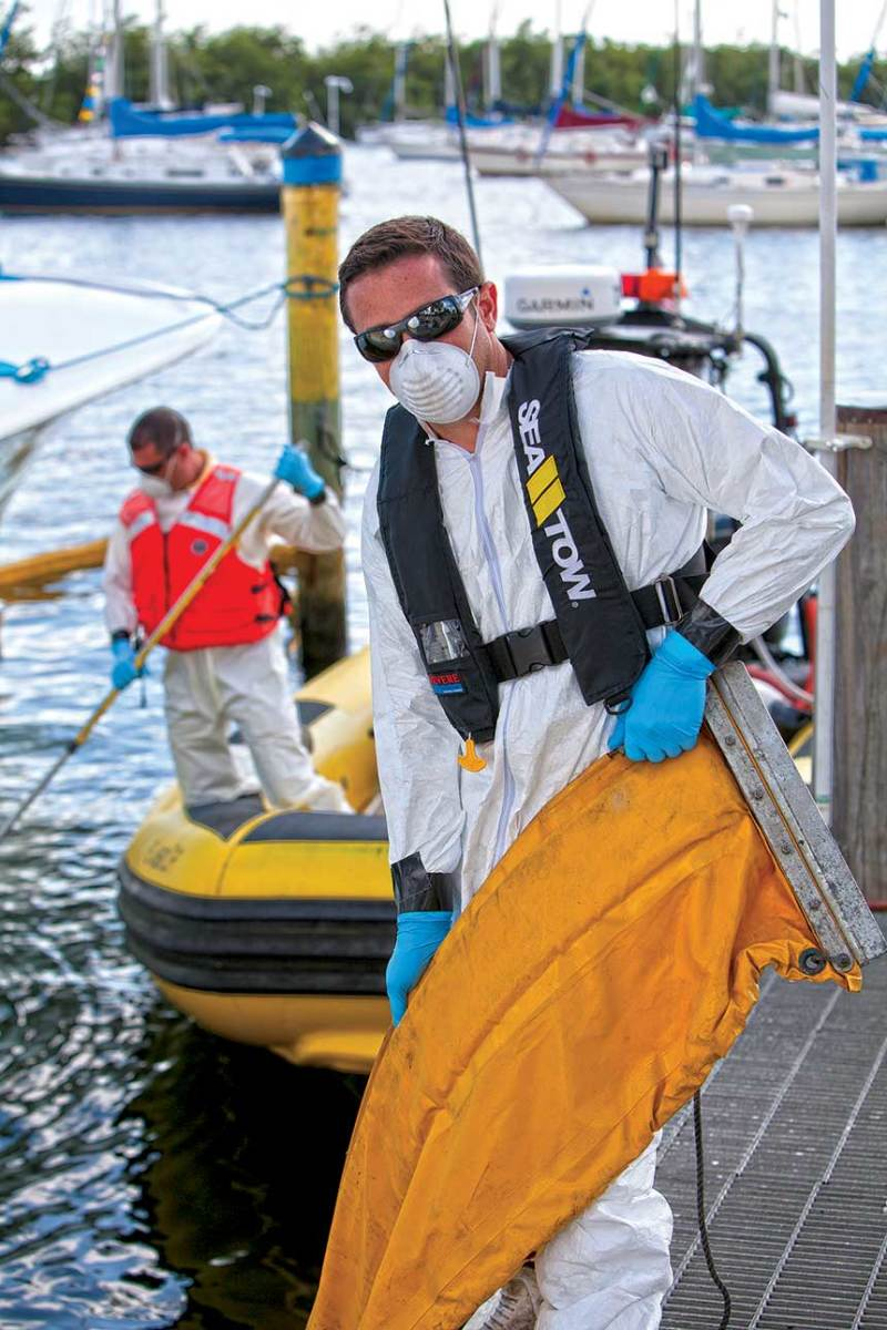 Sea Tow hasn't ceased operations during the coronavirus pandemic.
