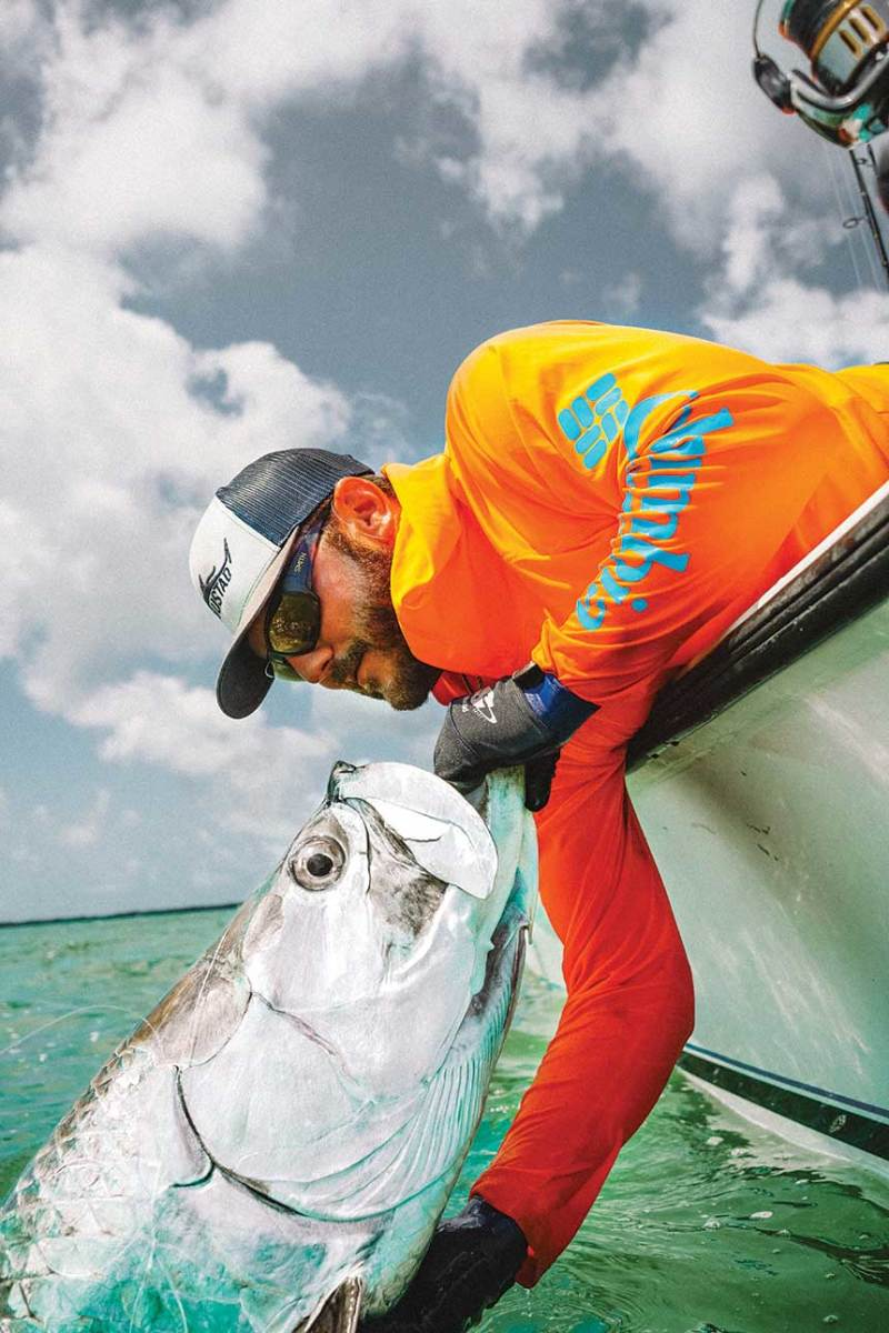 Capt. Josh Constantine's Caloosahatchee Cowboy Charters depends on clean water.
