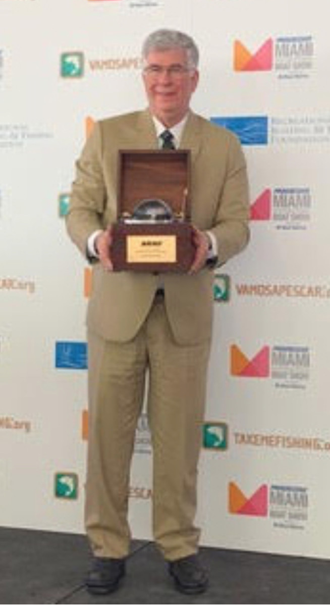 John Thommen, founder and CEO of Ocean Marketing Inc., is the recipient of the National Marine Manufacturers Association 2019 Alan J. Freedman Memorial Leadership Award.