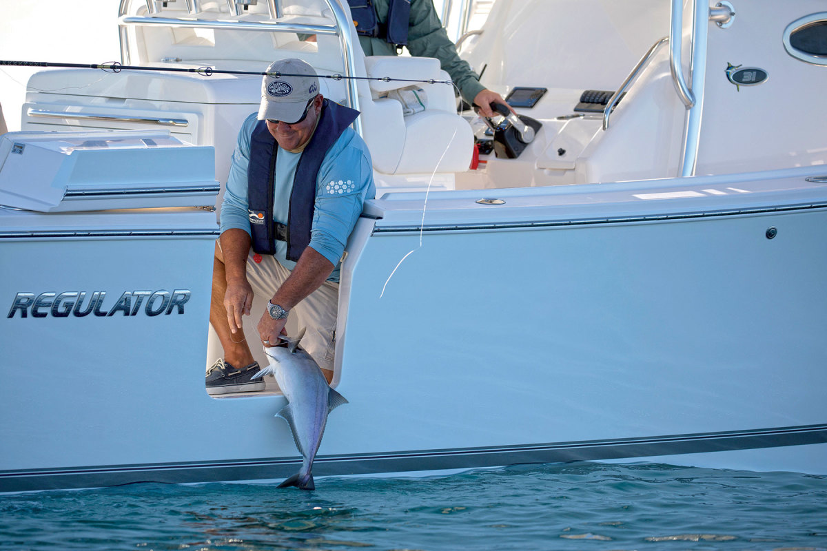 Many recreational anglers release fish before reaching their quota to conserve the resource.