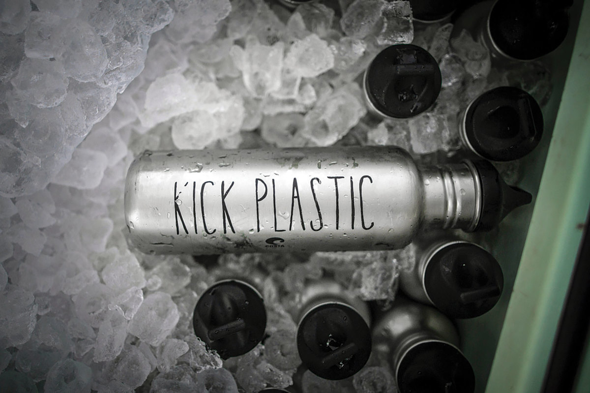 Costa's Kick Plastic campaign reduced single-use plastic at the Miami boat show by 50 percent