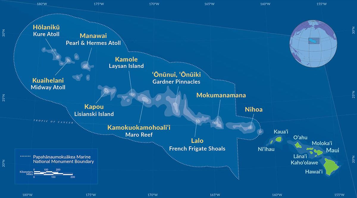 Map_Papahānaumokuākea