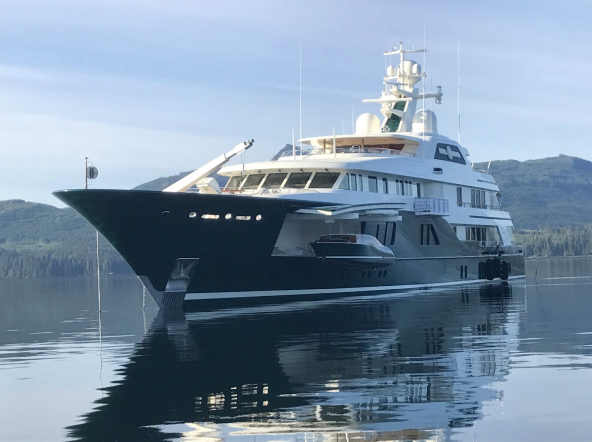 Sea Owl, a 203-foot Feadship built in 2013, is among the superyachts listed on Northrop Johnson's website. The asking price is 89,000,000 euros — over $100,000,000.