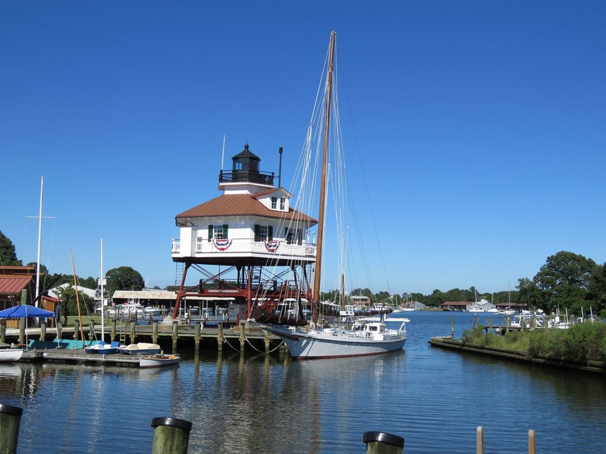 Drum Point Lighthouse in Solomons.