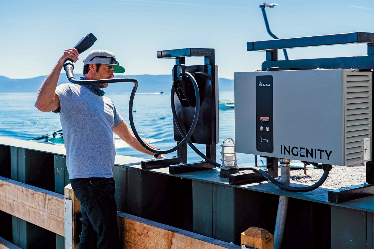The marine CCS at Lake Tahoe is the first of its kind in the United States.  Ingenity is eager to help scale the model to other locations.