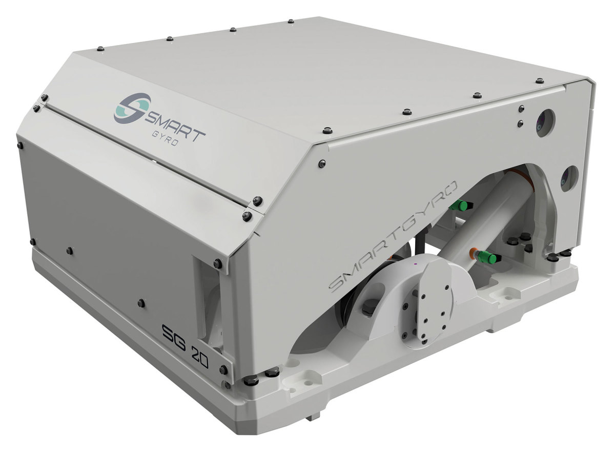 Smartgyro's SG20 (for boats 45 to 55 feet) was introduced earlier this year.