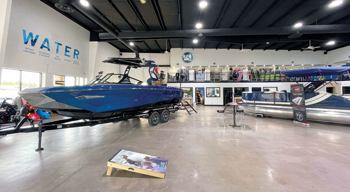 At WaterSports Central (and many other dealerships) boats are on a presale basis for delivery at some point in the future.