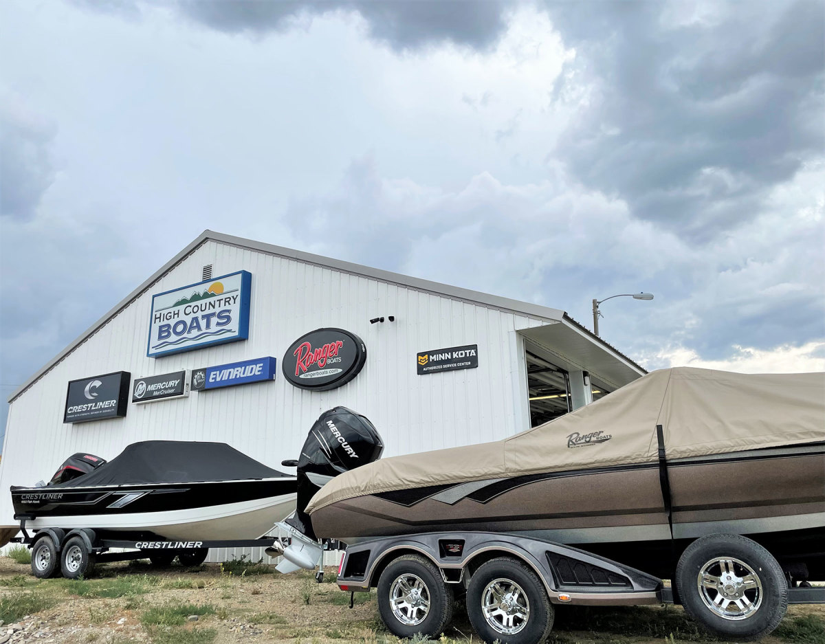 Boating enthusiam remains robust despite the drought. As a result, High Country Boats in Montana is finding success transitioning from showroom purchases to special ordering.