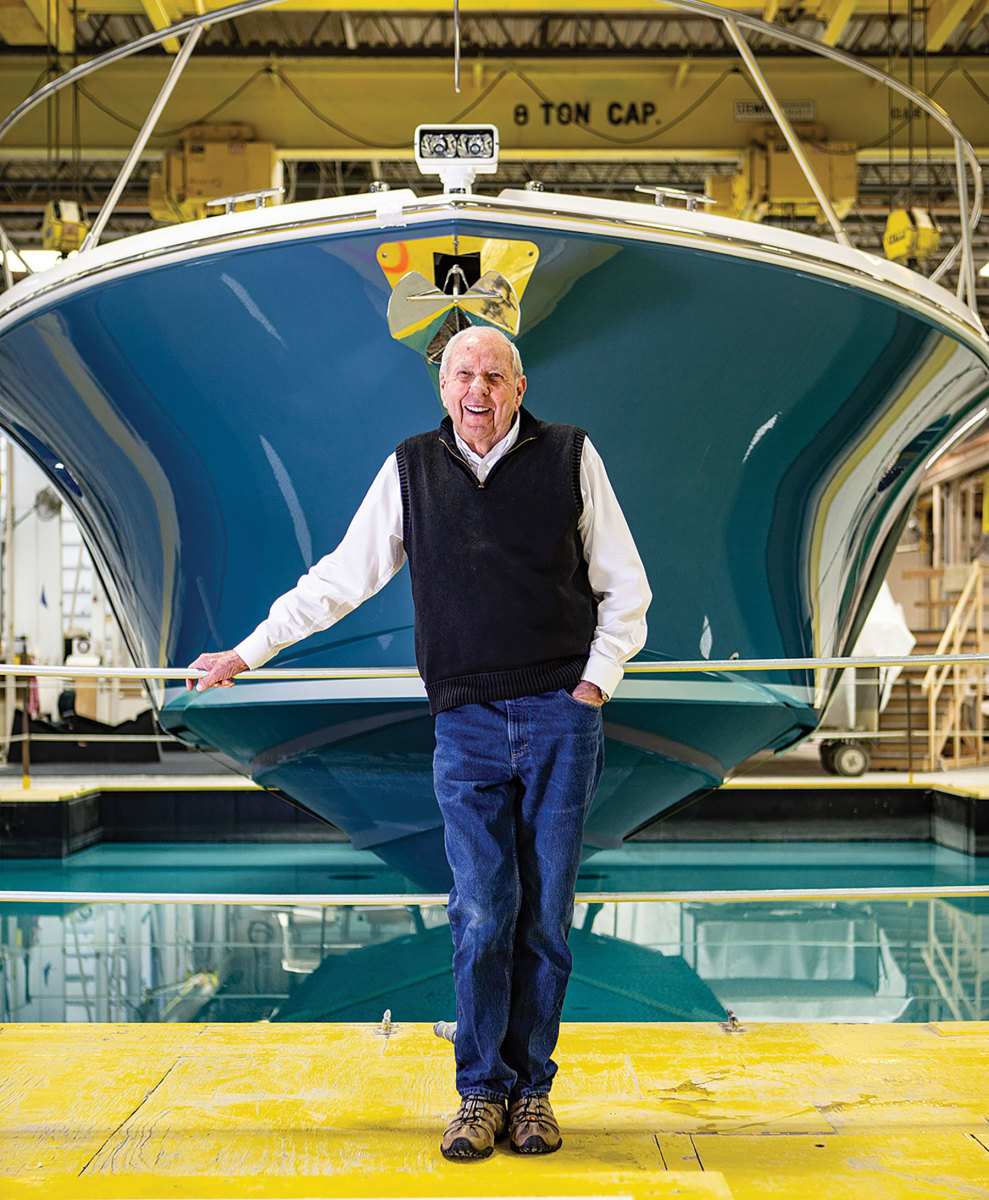 Leon Slikkers took what he learned from Chris-Craft in the 1940s and founded S2 Yachts in 1974, which launched the Tiara brand.