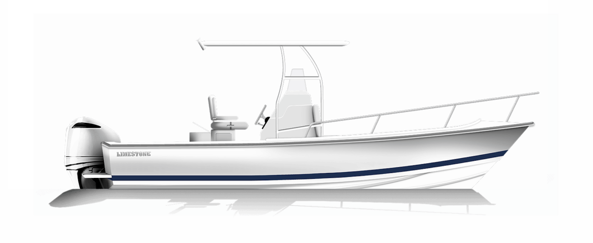 The Limestone Boat Co. L-200CC — the first new model from the relaunched builder — will debut at the show.