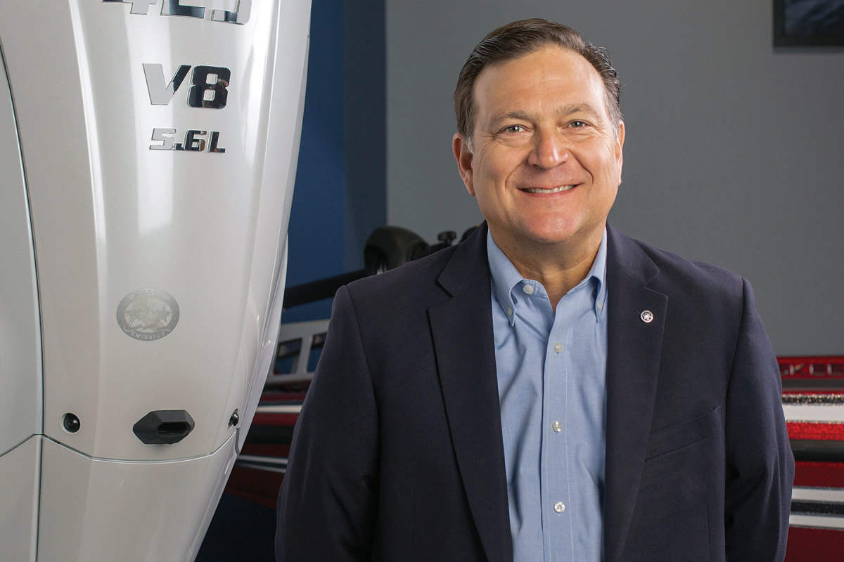 """Yamaha U.S. Marine Business Unit president Ben Speciale: """"Our relationship with Siren Marine will help us lead the marine connected and digital technology race"""""""