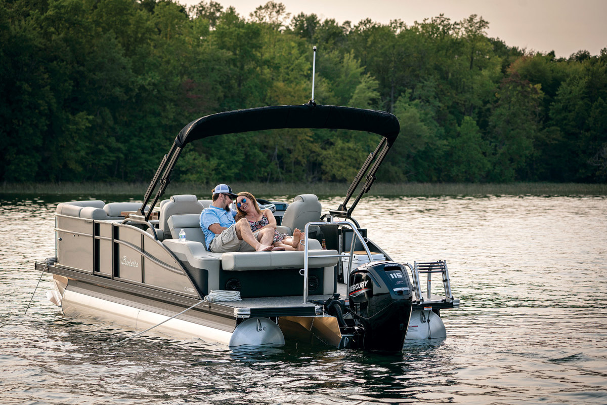 Indiana-based Barletta Boats was preparing for market growth when Covid-19 first hit in 2020.  Its new production facility was up and running in April this year.