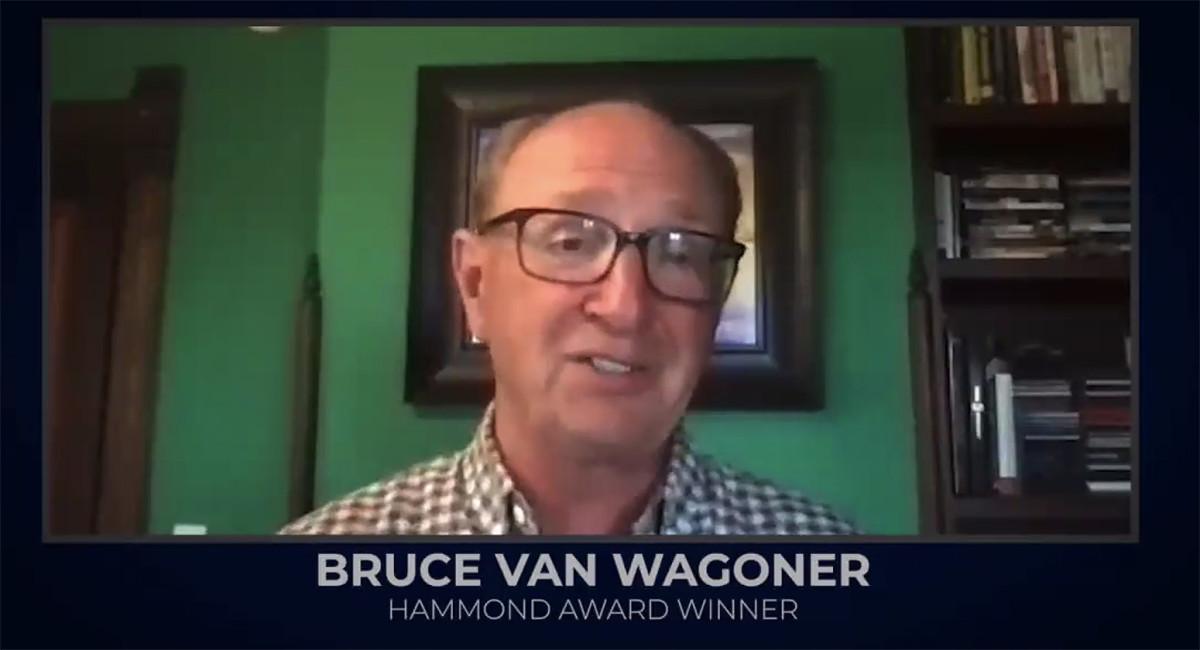 Hammond Marine Industry Leadership Award winner Bruce Van Wagoner