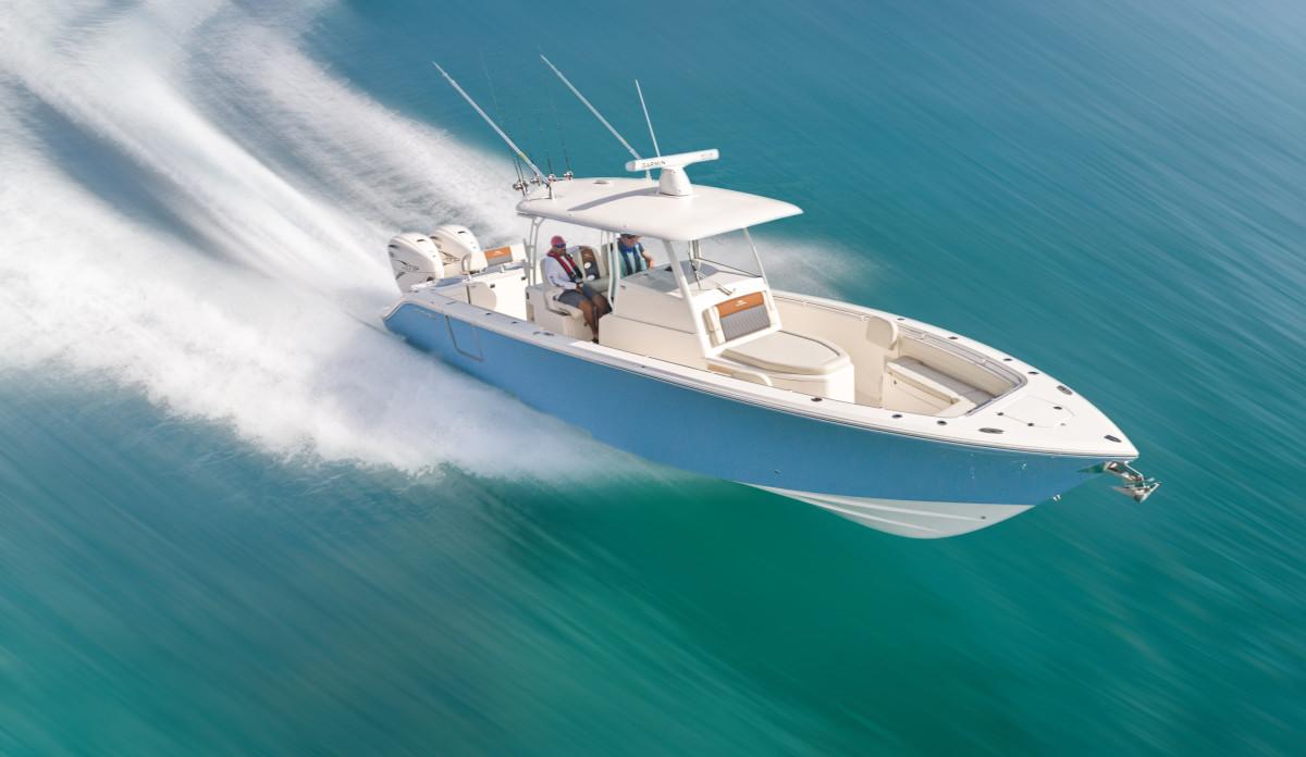 Maverick Boat Group_Cobia_350 Cover Pic
