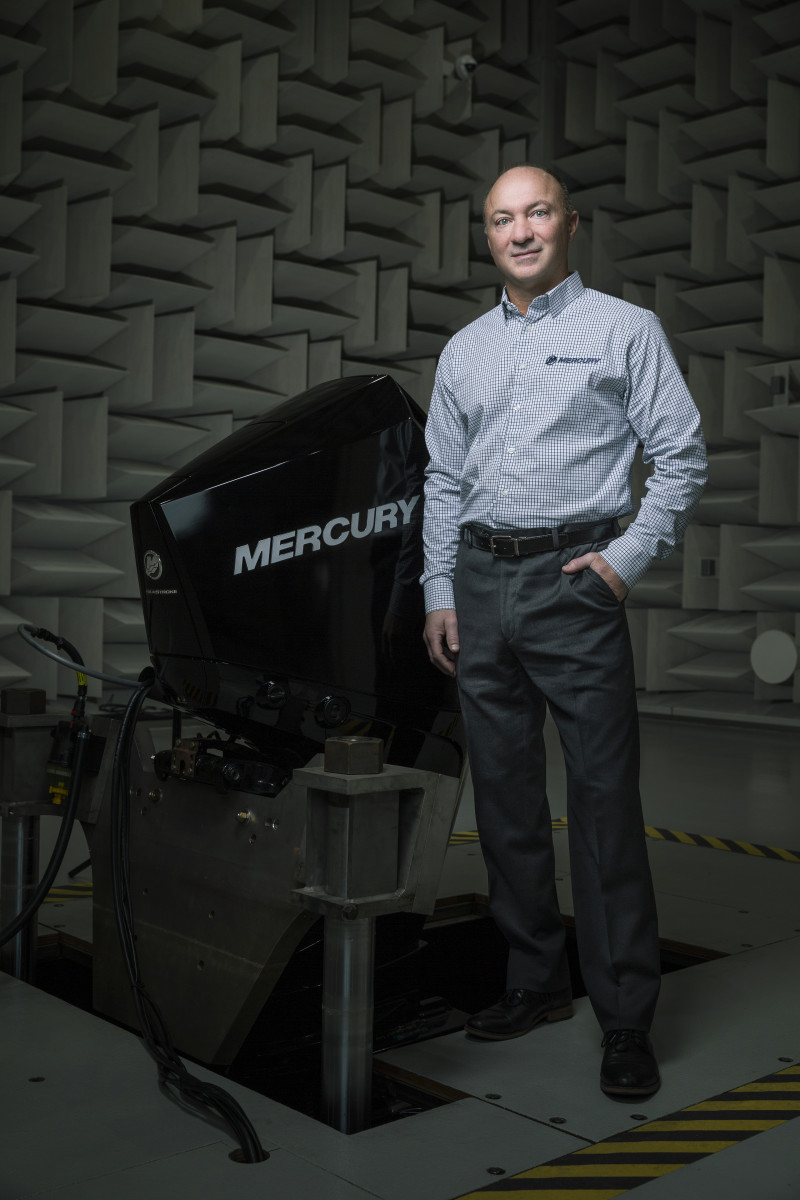 Mercury Marine president Chris Drees.