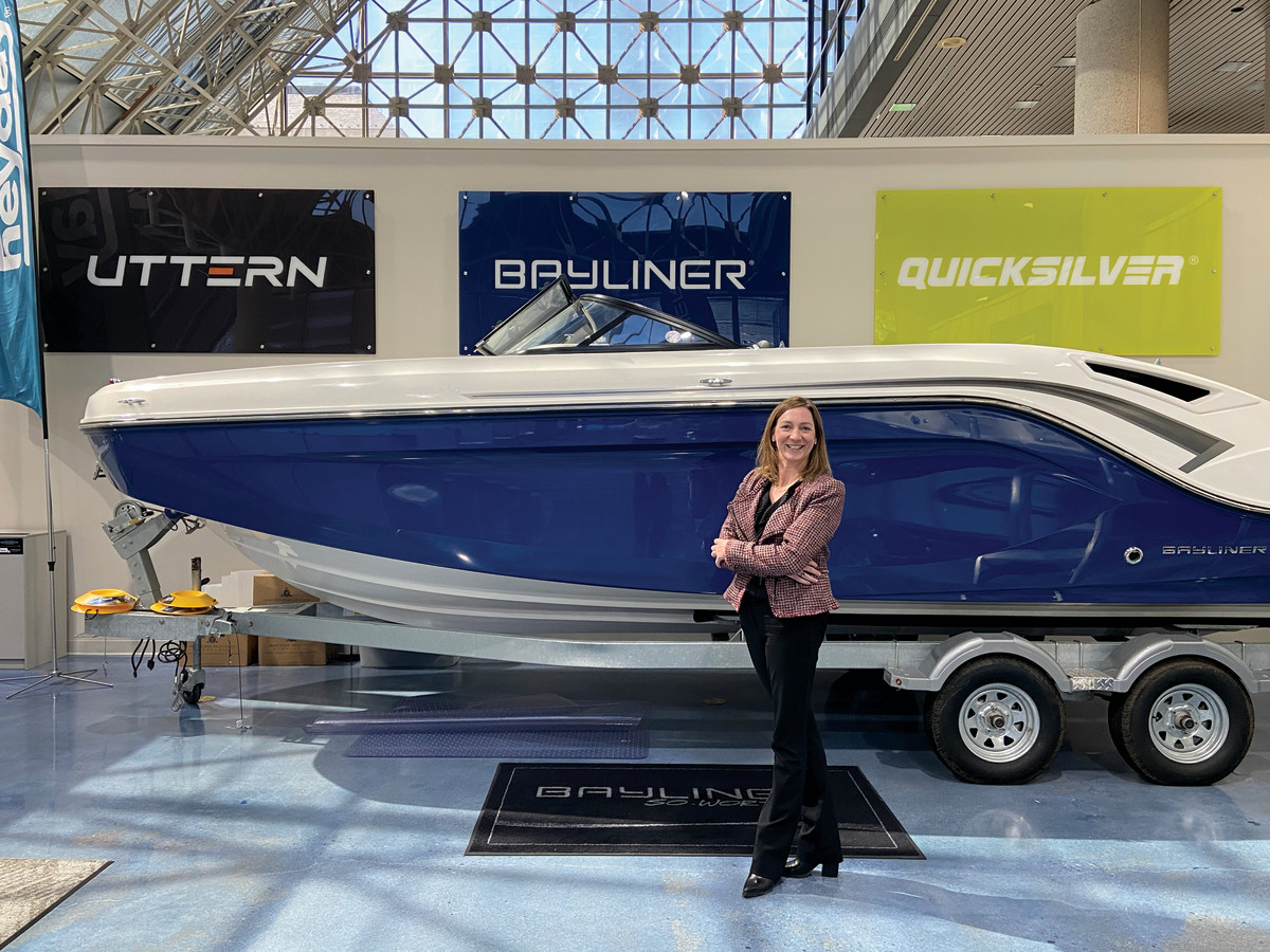 Brunswick Boat Group | Aine Denari | Article