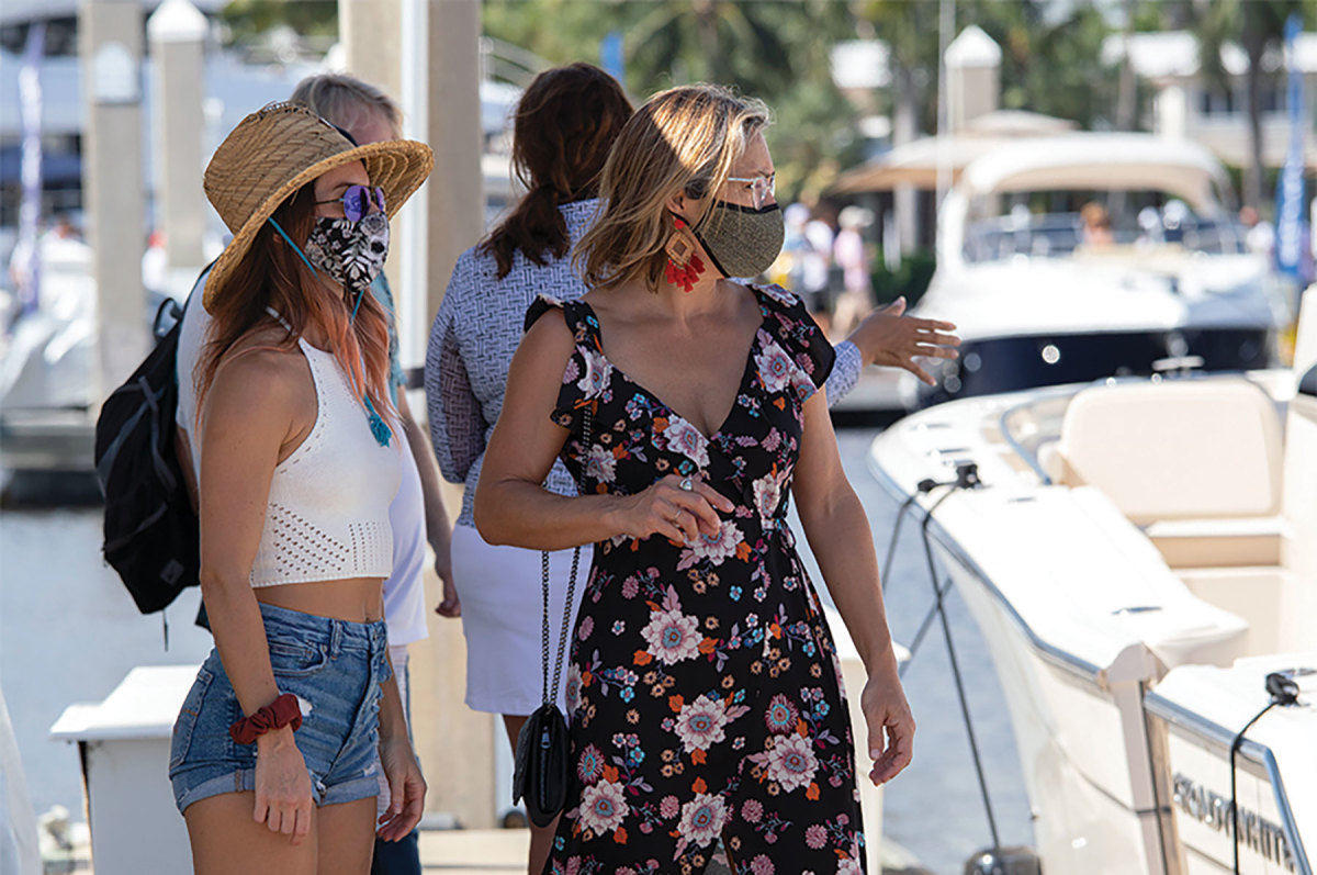 In addition to the boats, gear and accessories on display in one place, shows also celebrate the social aspects of the boating lifestyle.