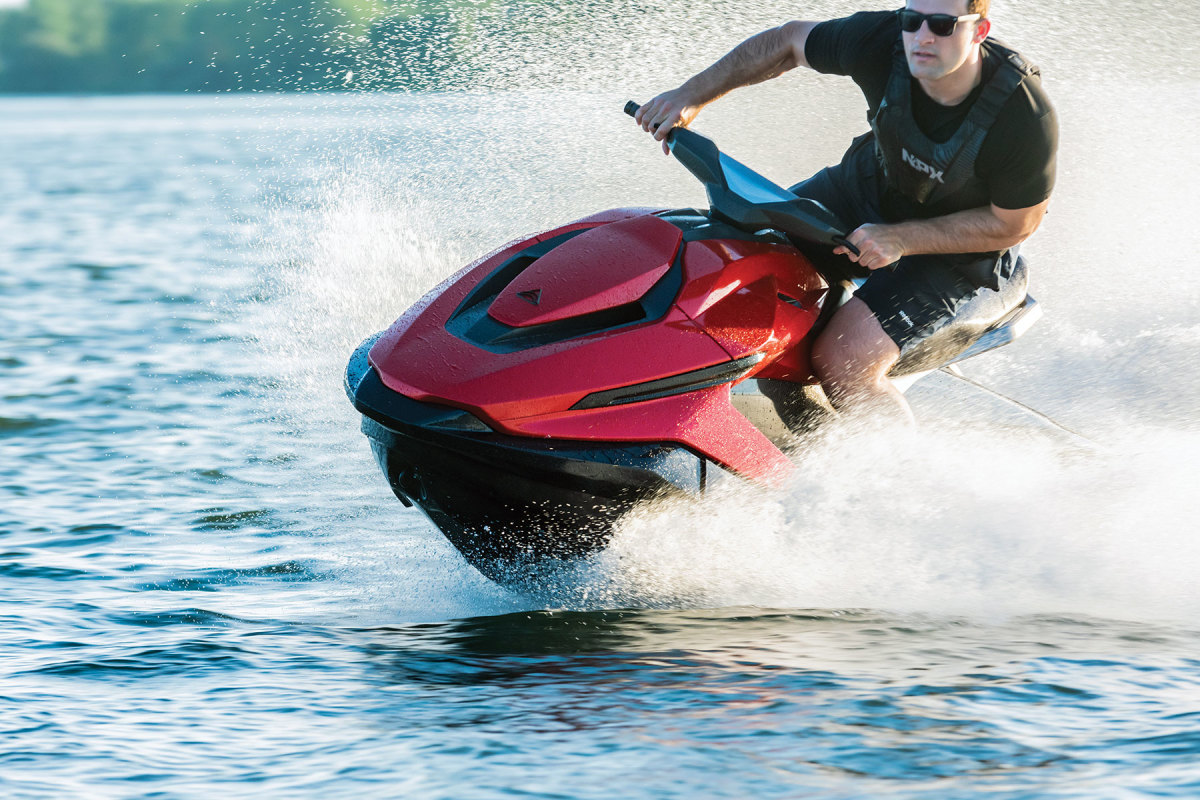 Québec-based Taiga Motors offers three models of its e-PWC Orca. The company plans to start shipping  units this summer.