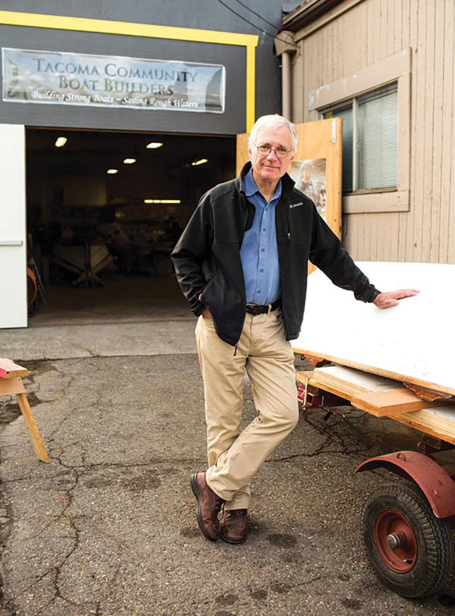 Tacoma Boat Builders founder Paul Birkey.