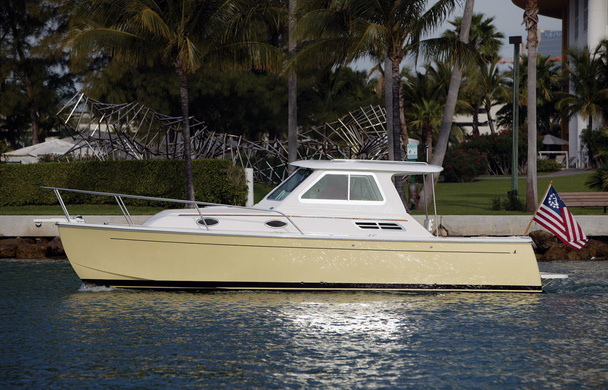 The single-diesel 29 launched the Back Cove brand.