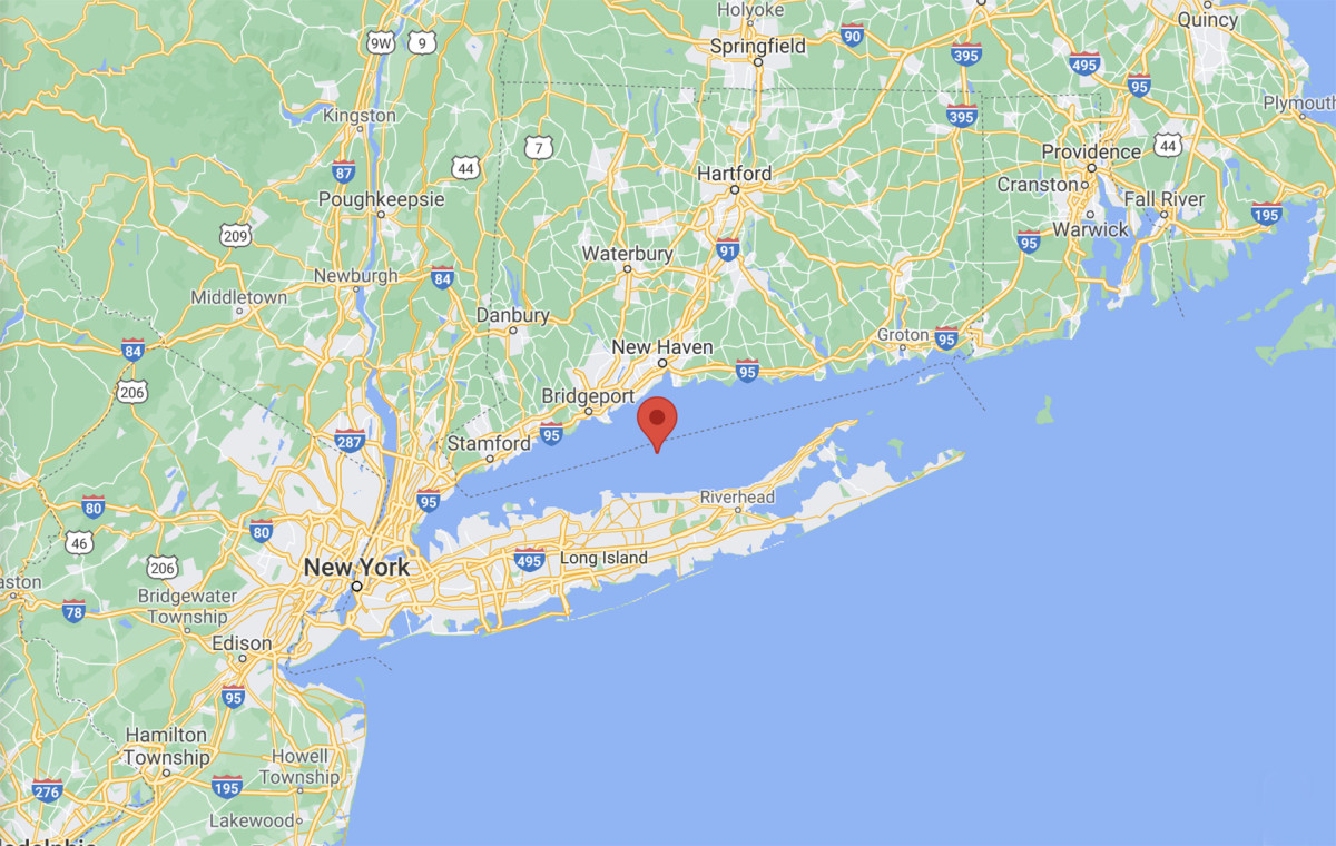Long Island Sound Map