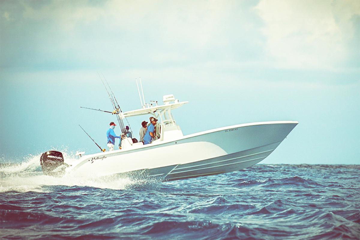 2_Yellowfin Boat