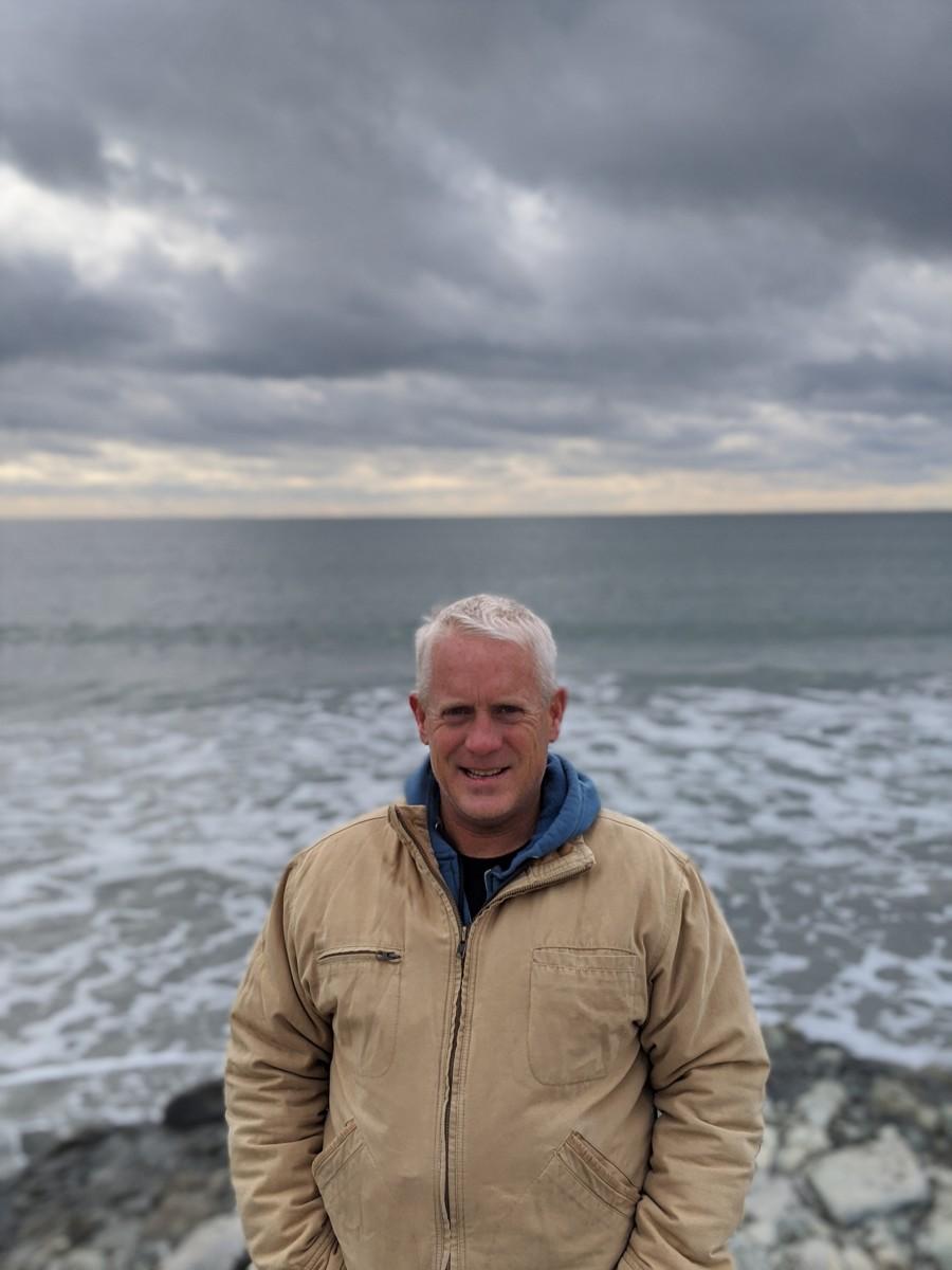 Dave McLaughlin, cofounder of Clean Ocean Access.
