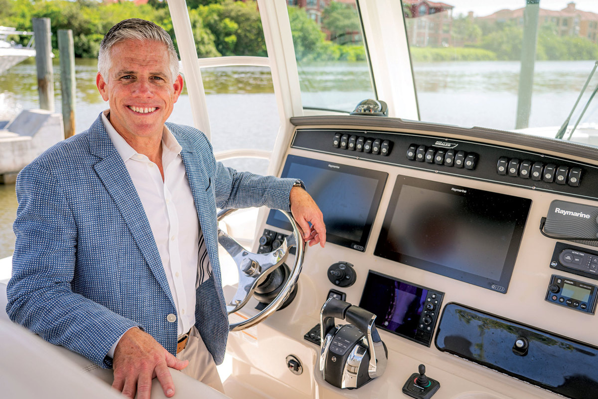 McGill started at MarineMax in 1998 and became president and CEO in 2018.