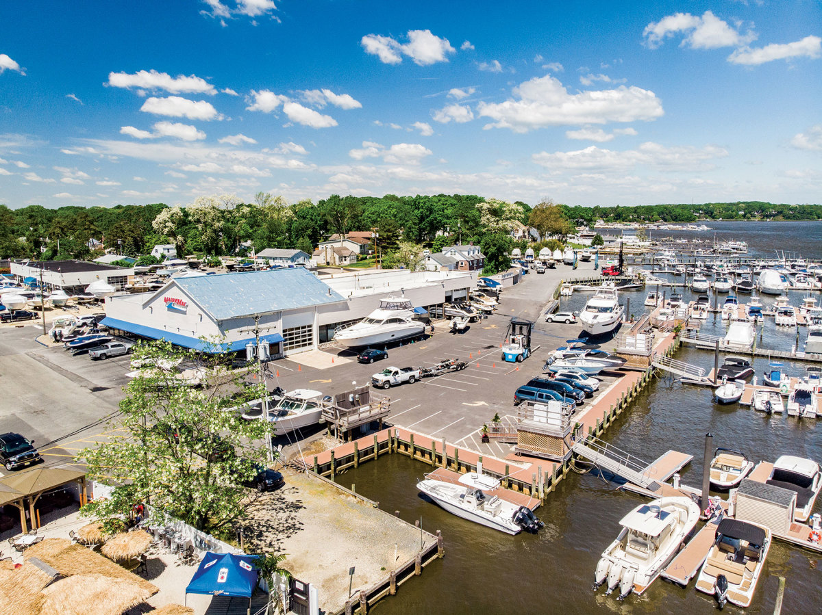 McGill says that acquiring marinas is part of the company's balanced-growth approach.