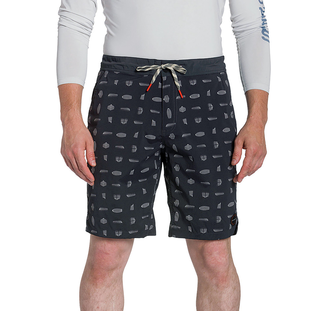 Men's boardshorts from the Grundéns  NetSourced collection.