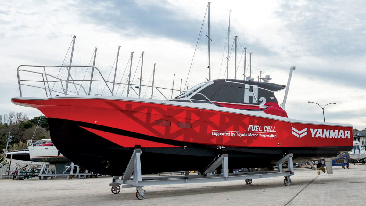 Yanmar Marine continues to conduct fielddemos of its hydrogen-powered system.