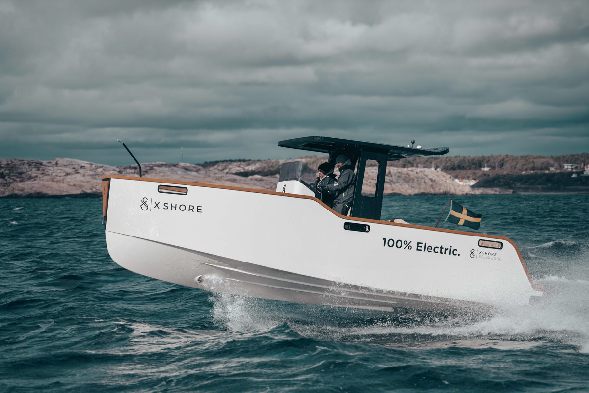 X Shore's primary offering is the Eelex 8000. Photo: CNW Group/BCI Marine